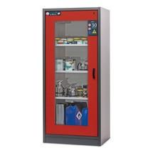 Sicherheitsschrank asecos® Typ 30 mit Glastür