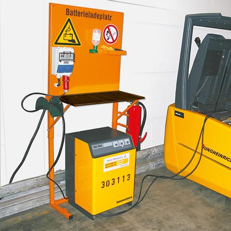 Sicherungskasten für Batterieladeplatz
