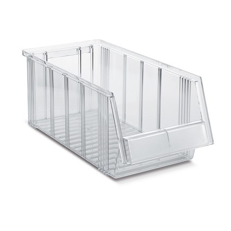 Sichtlagerkästen, transparent