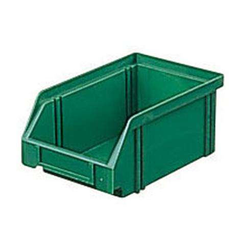 Sichtlagerkasten aus Polystyrol. Maß 160 x 105 x 75 mm (LxBxH)