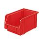Sichtlagerkasten aus Polystyrol. Maß 230 x 140 x 130 mm (LxBxH)