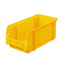 Sichtlagerkasten aus Polystyrol. Maß 290 x 140 x 130 mm (LxBxH)