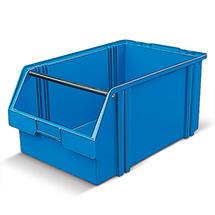 Sichtlagerkasten aus Polystyrol. Maß 500 x 300 x 230 mm (LxBxH)
