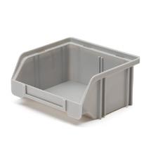 Sichtlagerkasten aus Polystyrol. Maß 85 x 105 x 45 mm (LxBxH)