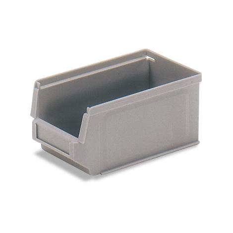 Sichtlagerkasten fetra® in verschiedenen Größen. Grau