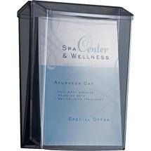sigel® Outdoor-Prospekthalter acrylic