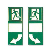 Signalisatiebekleding voor deurgrepen, rechts georiënteerd