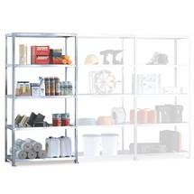 Sistema de aparafusamento para estanteria para picking META, módulo de montagem, carga de 230 kg por prateleira, galvanizado