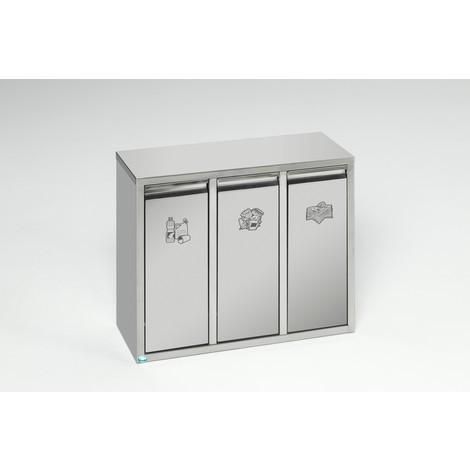Sistema di selezione riciclabile VAR® acciaio inox