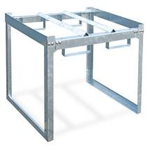 Sistema modular de estante inferior de barril