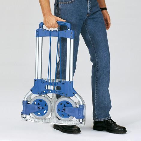 Składany aluminiowy wózek transportowy fetra®