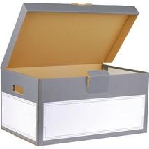smartboxpro Archivbox mit Klappdeckel