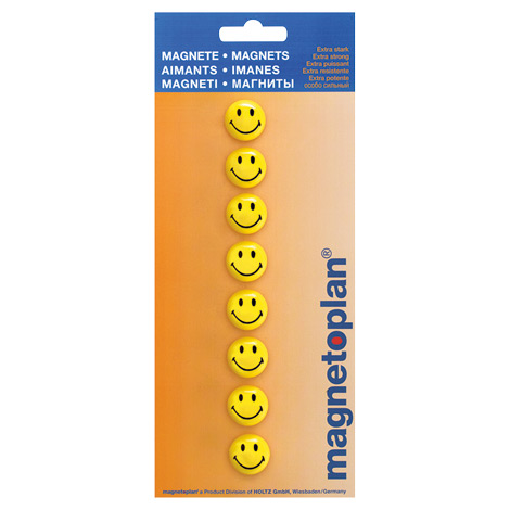 Smiley-Magnete