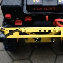 Sneeuwfrees Basic 56, veegbreedte 560mm, uitworpkanaal draaibaar