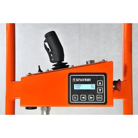 Snorkel Batterie-Scherenarbeitsbühne, elektrisch verfahrbar
