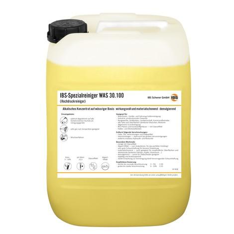Solvant haute pression IBS WAS 30.100