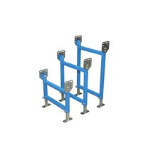Soporte para transportadores de rodillos pequeños y ligeros