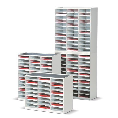 Sortierstation mit bis zu 36 Fächern im DIN A4-Format