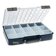 Sortimentskoffer CarryLite mit herausnehmbaren Einsätzen