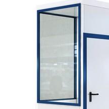 Sovrapprezzo per finestre con apertura ad anta e ribalta per sistemi prefabbricati mobili wsm®