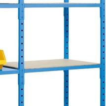 Spaanplaat legbord voor legbordstelling inhaak., cap. 500 kg
