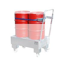 Spanngurt 2 x 60-Liter-Fässer