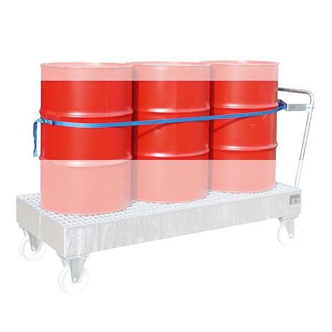 Spanngurt 3 x 200-Liter-Fässer