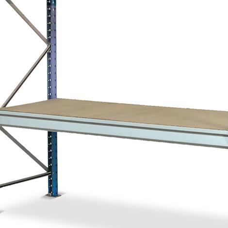Spanplatten für Weitspannregal Stecksystem. Fachlast bis 980 kg