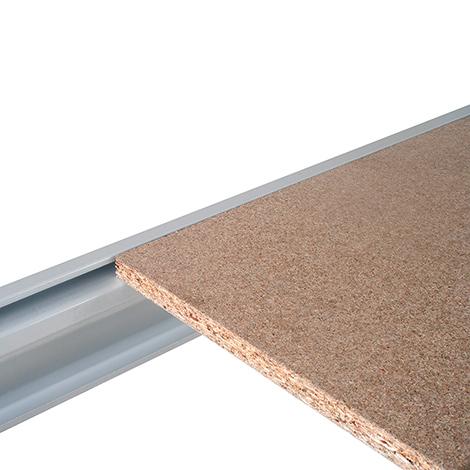 Spanplattenebenen für Schwerlastragal, bis 1500 kg