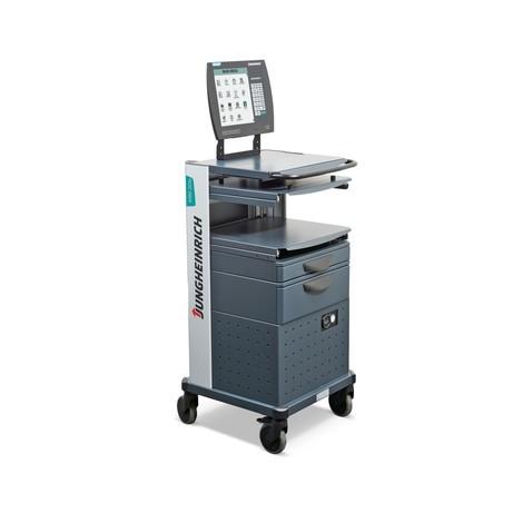 Spazio di lavoro mobile Jungheinrich, con batteria agli ioni di litio