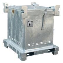 Speciale afvalcontainer SAS 800, voor gecomprimeerde gasverpakkingen en spuitbussen