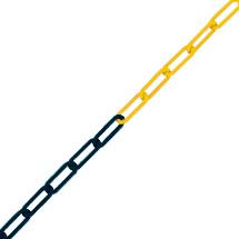 Sperrketten, Ø 6 mm, Material Kunststoff oder Nylon, Länge bis 50 m, div. Farben/Farbkombis