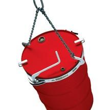 Sprongkettingen voor vaten, capaciteit 800 kg, vat-Ø 420 - 540 mm