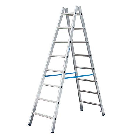 Sprossen-Doppel-Stehleiter KRAUSE ® bis Höhe 5,03 m