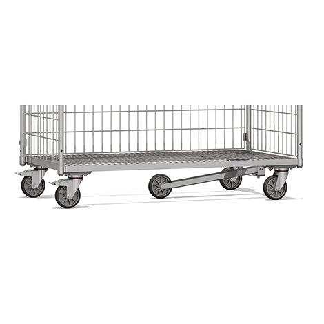 Spurrolle für Kommissionierwagen fetra®, 1250 x 610 mm