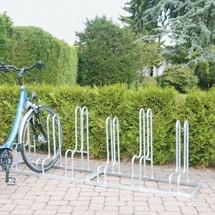 Staand fietsenrek eenzijdig, 3 - 6 plaatsen