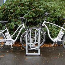 Staand fietsenrek tweezijdig, 6 - 12 plaatsen