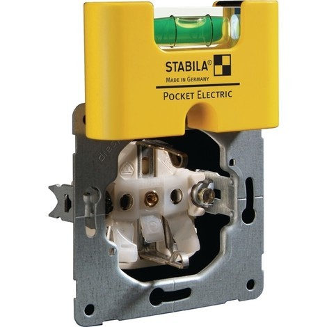 STABILA Wasserwaage Pocket Electric