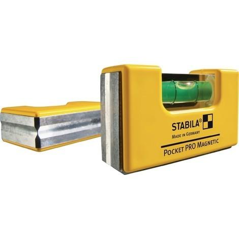 STABILA Wasserwaage Pocket PRO Magnetic
