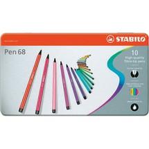 STABILO® Fasermaler Metalletuis Pen 68
