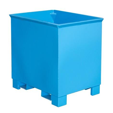 Stacking container til rutehejs, malet, volumen 0,3 m³