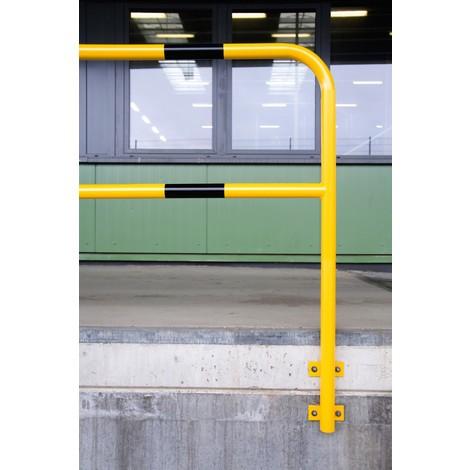 Staffa di protezione, per interni, fissaggio laterale