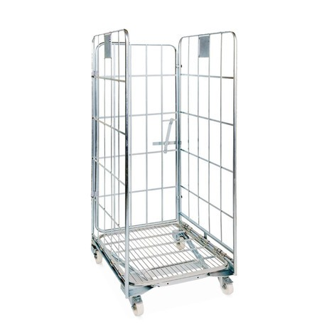 Stahl-Rollbehälter BASIC, nestbar