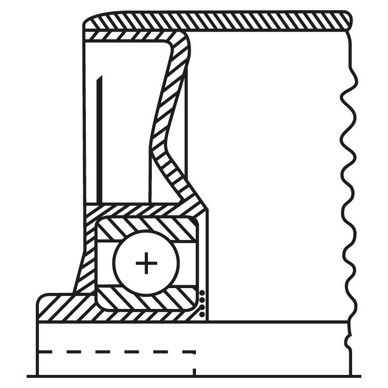 Stahl-Tragrollen Gewindeachse. Lager: verzinktes Stahlblech mit Rillenkugellager