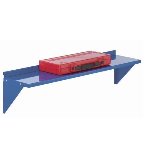 Stahlboden (groß) für Schlitzplatten. 1000x250mm