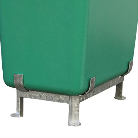Stahlfußgestell für GFK-Großbehälter