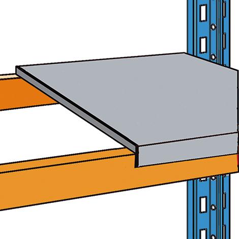 Stahlpaneele für Palettenregal Typ S