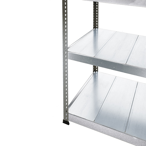 Stahlpaneele für Weitspannregal Stecksystem, verzinkt
