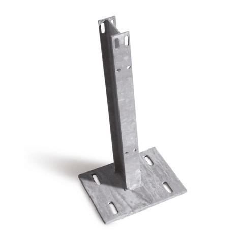 Stahlpfosten für Schutzplanken