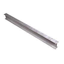 Stahlpfosten zum Einrammen für Stahlschutzplanke
